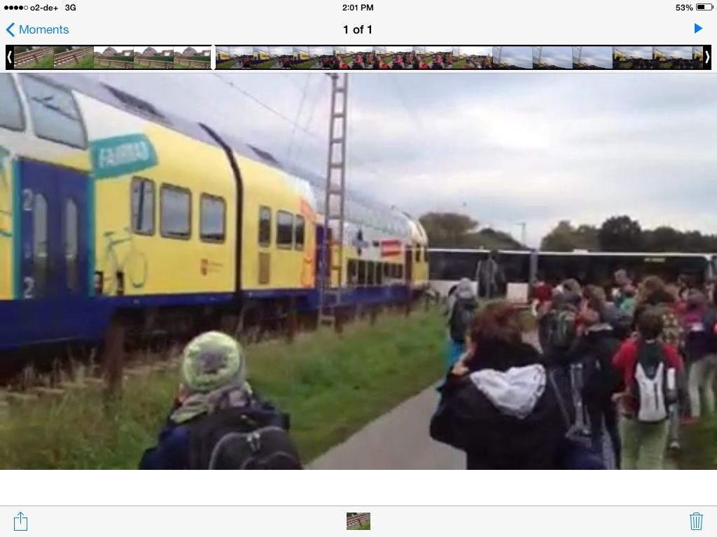 [BREAKING] Train crushes School Bus in Germany (VIDEO)