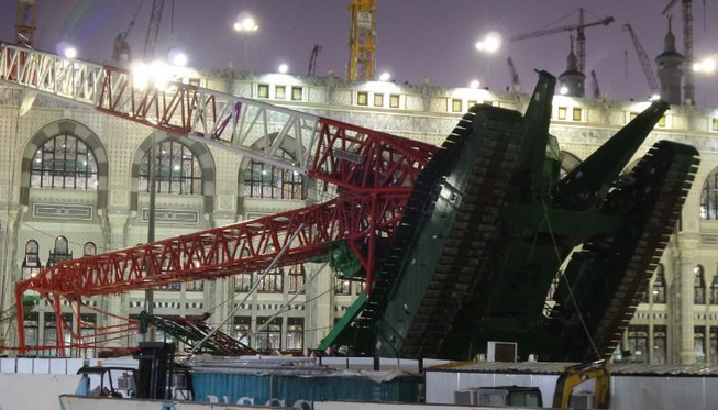 [MAKKAH TRAGEDY] 87 killed as crane crashes into Grand Mosque