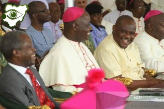 [PHOTO NEWS] Rivers State Gov.Wike welcomes VP Osinbajo to Rivers State