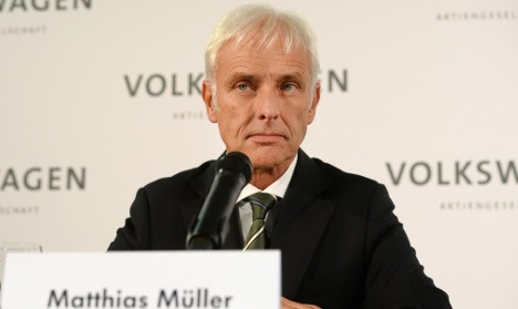 Porsche chief Müller named as new VW CEO