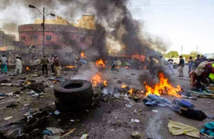 [BREAKING] Explosion Rocks Lagos