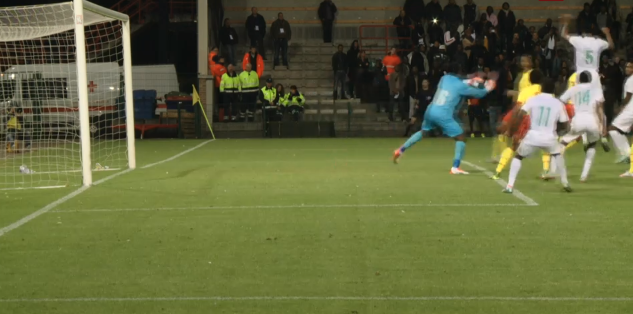 The Goal,a header from  Efe Ambrose