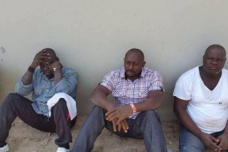 [PHOTO NEWS] Former President Jonathan escapes assasination in Bayelsa,men arrested