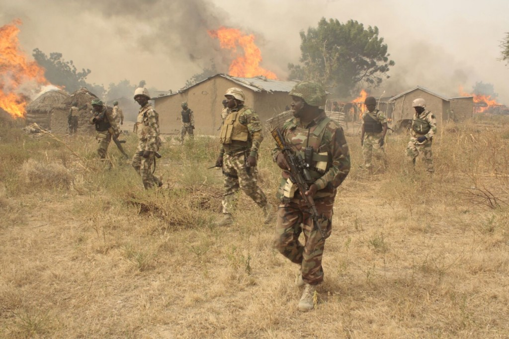 [PHOTO NEWS] Army discovers Tunnel built by Boko Haram in Sambisa