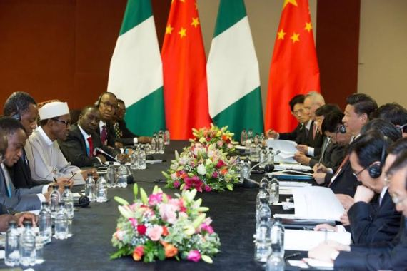 [PHOTO NEWS] Buhari holds bilateral talk with Chinese President