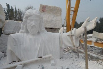 [PHOTO NEWS] Africa's Tallest Statue Of Jesus Set To Be Unveiled In Imo State