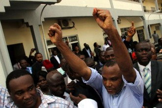 [BREAKING] Radio #BIAFRA Director Nnamdi Kanu discharged
