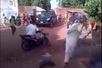 [VIDEO] Angry Youths Attack Kaduna State Governor El-Rufai Zaria