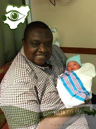 [PHOTO NEWS] Chief Iwuanyanwu welcomes grand-son,...sorry SON