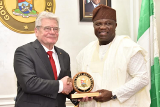 [PHOTO NEWS] Bundespräsident (Presdent of Germany) Joachim Gauck visits Lagos Gov. Ambode