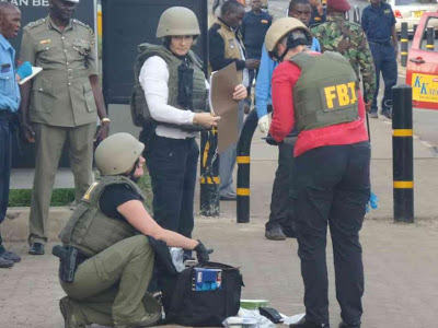 [VIDEO] Man shot dead outside US embassy in Nairobi, Kenya
