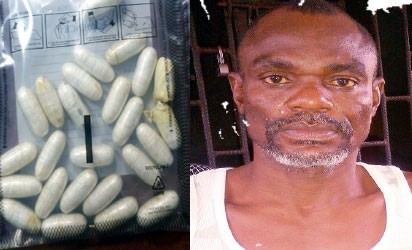 [PHOTO NEWS] Traveller to Madagascar Excretes 270g of Cocaine at Lagos Airport