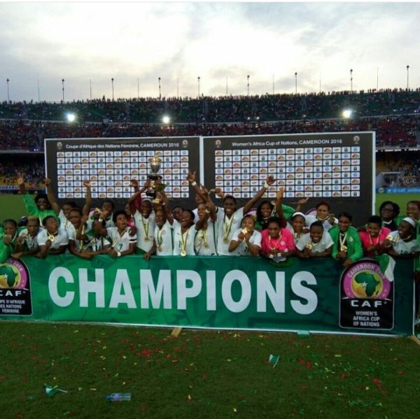 Super Falcons seizes CUP until NFF Pays their Allowances (A COUNTRY IN DISARRAY)