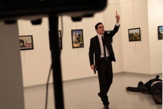 [BREAKING] Russian Ambassador Shot And Killed In Turkey (PHOTOS)