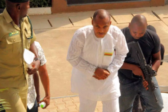 [BREAKING] #IPOB Leader Nnamdi Kanu secret trial begins,Press & Relatives Refused Access #BIAFRA