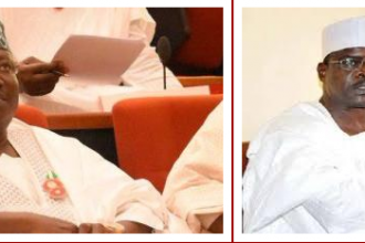[APC CRISIS] APC Senators sacks Ali Ndume as Senate Majority Leader, replaced by Senator Ahmed Lawan