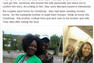 [UNBELIEVEABLE] US BASED COUPLE POISONED BY RELATIVE (PHOTOS)