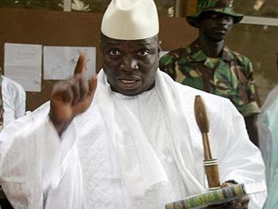 Former President Jammeh of Gambia Knows