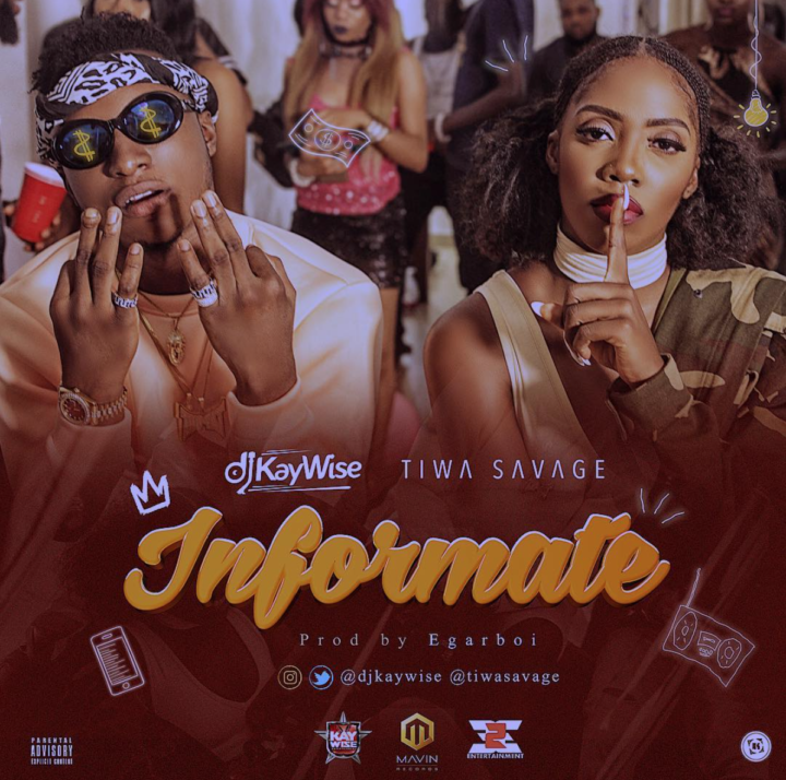 [MUSIC VIDEO] DJ Kaywise ft. Tiwa Savage – Informate