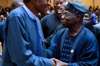 [BREAKING] Obasanjo meets Buhari at AU Summit in Addis Ababa.(VIDEO + PICTURES)