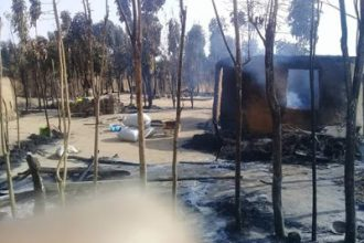 [BREAKING] Many killed, houses burnt as suspected Fulani Herdsmen attack Numan in Adamawa State (PHOTOS)