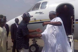 [BREAKING] Gov #Fayose of #Ekiti Visits #Benue to show #Solidarity for the killings and support for Anti-Open Grazing Law