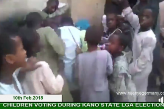 [VIDEO] Kano Under Aged Voting during LG Election