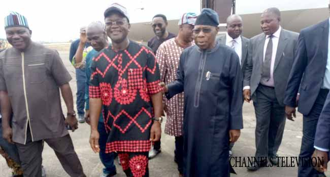 Obasanjo Pays Solidarity Visit To Benue