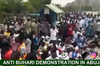 Northern youths singing Buhari is a Criminal