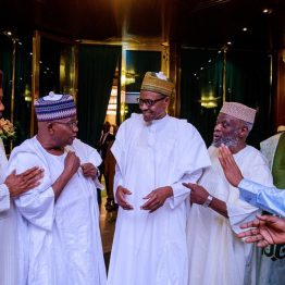 Buhari Meets Senators Over IGP-Senate Faceoff