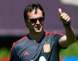 Spain Sacks National Coach Julen Lopetegui