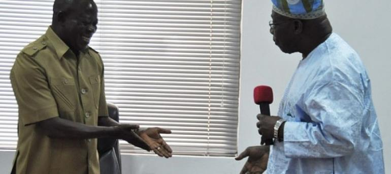 I would arrest Obasanjo if i am President – Oshiomhole