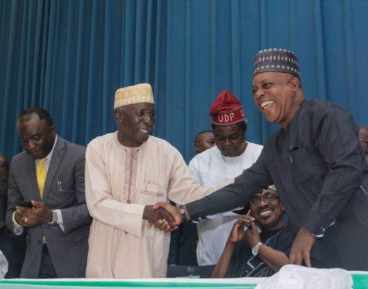 We're ready to lay down our lives to FIGHT THE MONSTER -Galadima