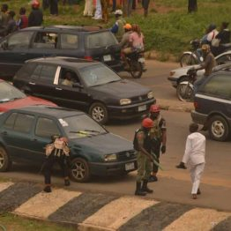 Security Operatives lay Siege on Ekiti Govt House