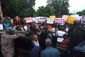 Angry youths stop Ortom's convoy in Benue