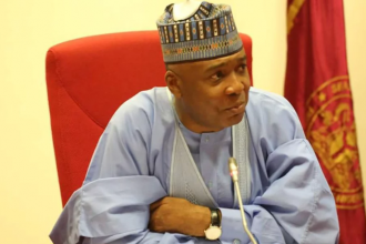 Senate President Bukola Saraki's Speech as he dumps APC for PDP