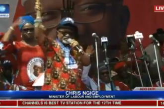 Ngige begs electorate to vote for Fayose on Saturday