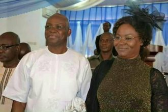 EFCC begins investigation of Gov.Fayose, wife
