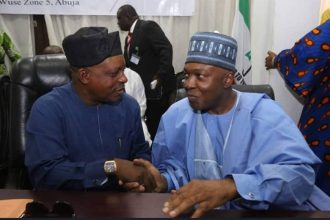 Saraki,Ortom,Tambuwal Attend PDP NEC Meeting