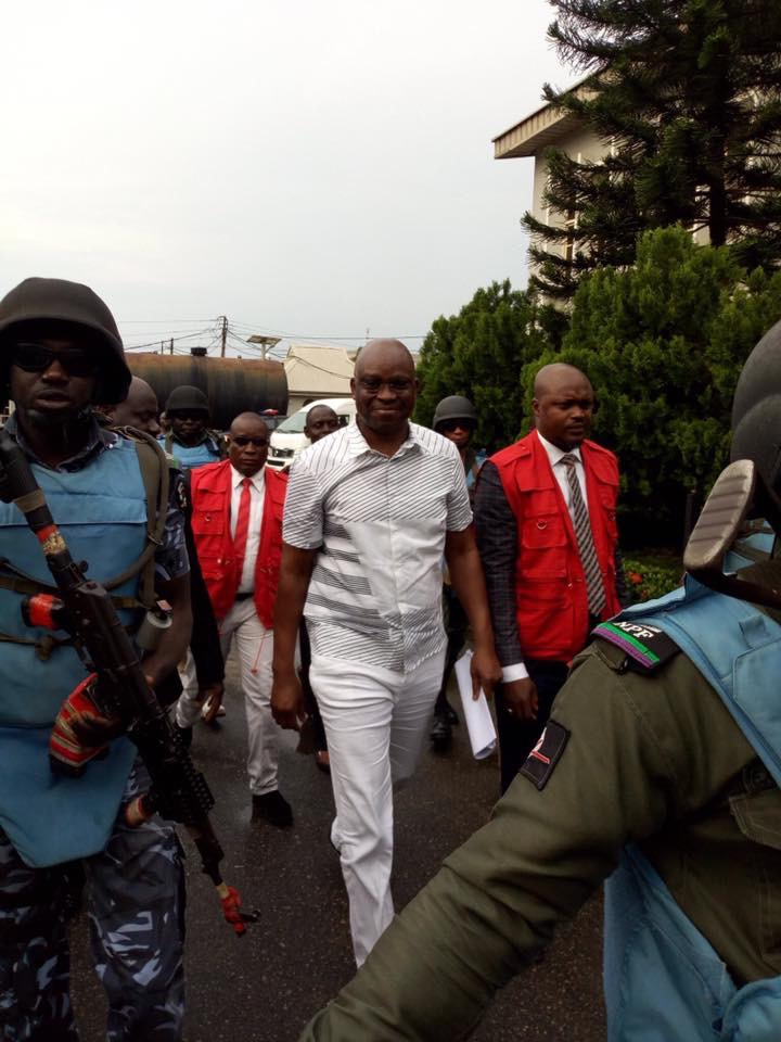 Court Grants Ex. Gov. Fayose N50m Bail, takes his International Passport