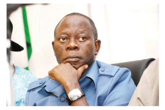 Protesters storm APC headquarters, demand Oshiomhole's resignation