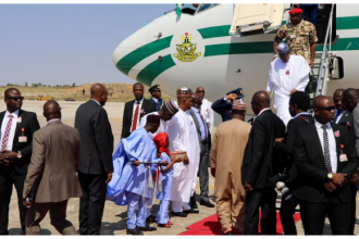 Buhari visits Maiduguri for COAS conference