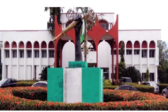 [BREAKING] Fight in Anambra Assembly as factional Speakers struggle to take seat