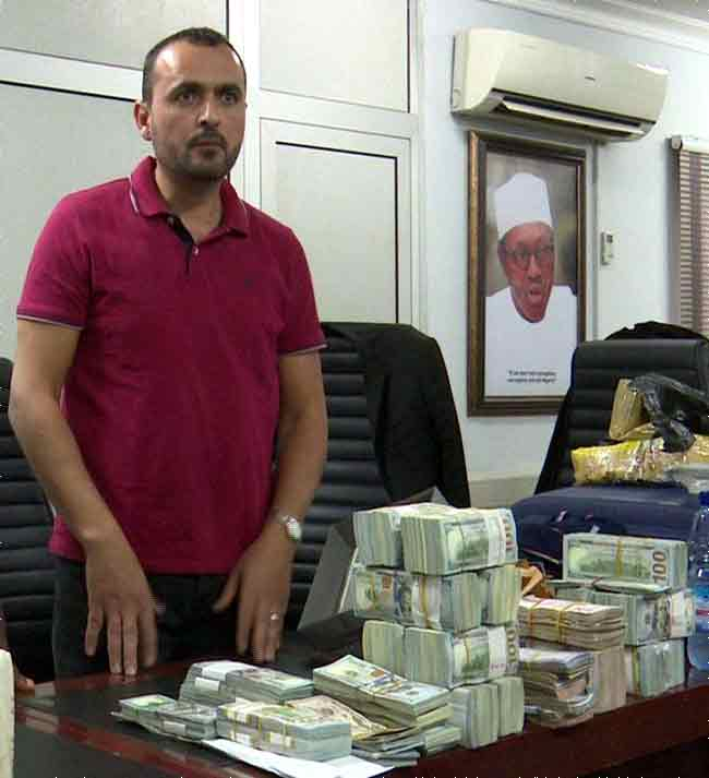 #Lebanese arrested With Over $2m At #Abuja #Airport by #EFCC