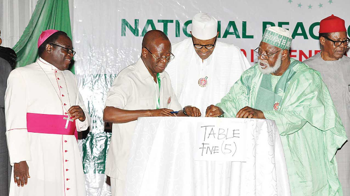 Atiku, Ezekwesili, Duke, Sowore absent as presidential candidates sign Peace Agreement