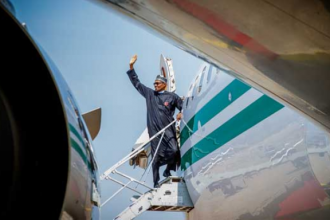 #Buhari heads to Poland ahead of #COP24
