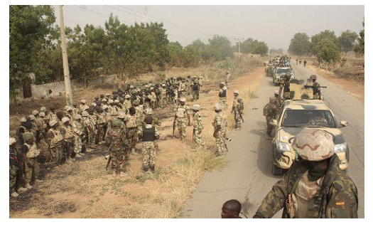Two soldiers wounded as troops clash with Boko Haram in Borno