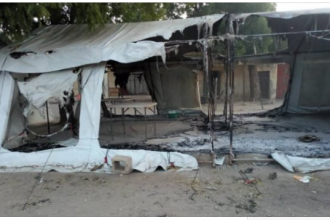 #BokoHaram attacks #Rann again, burns #UNICEF clinic