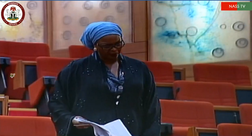 #Senators shouting '#Jubril of #Sudan' during #plenary