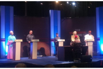 [HAPPENING NOW] #Osinbajo, #Obi & others in vice-presidential debate- #2019Debate (VIDEO)